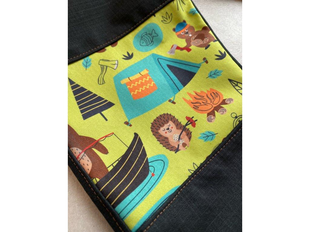 Softshellové kalhoty - KEMPOVÁNÍ