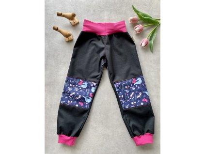 Softshellové kalhoty - PTÁČCI