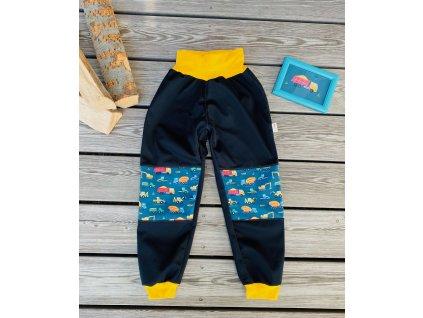 Softshellové kalhoty  VLÁČKY