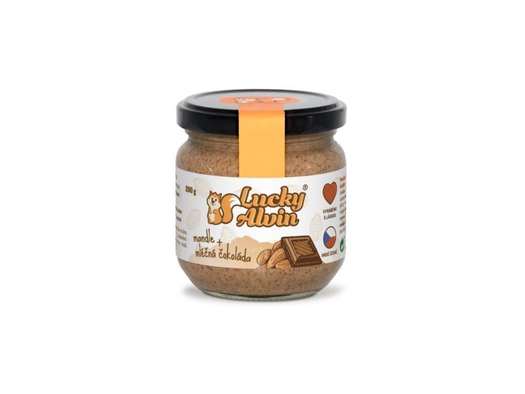 lucky alvin mandlove maslo ochucene 200g