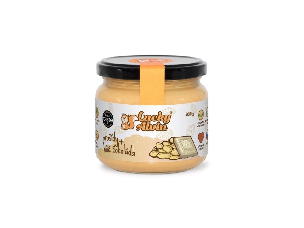 lucky alvin arasidove maslo ochucene 330g
