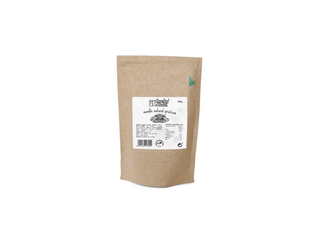 lucky alvin mandle natural prazene 250g