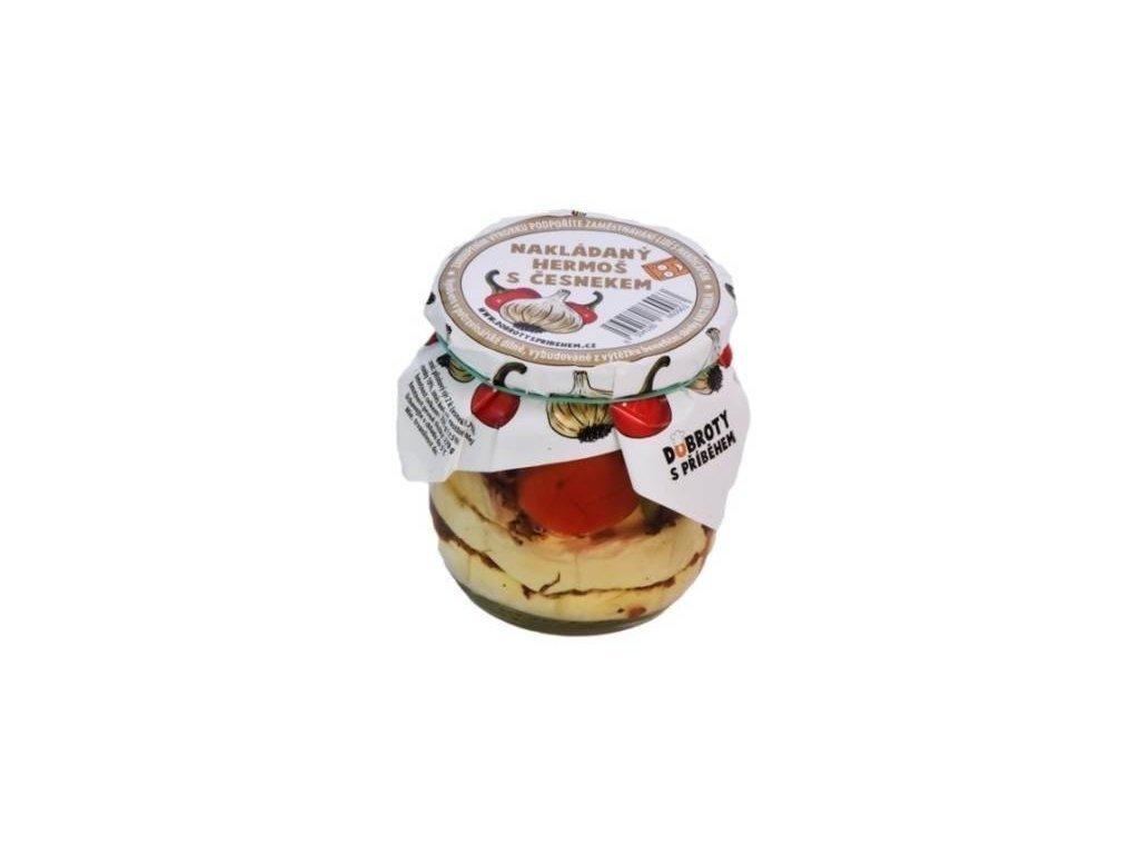 hermelin česnek