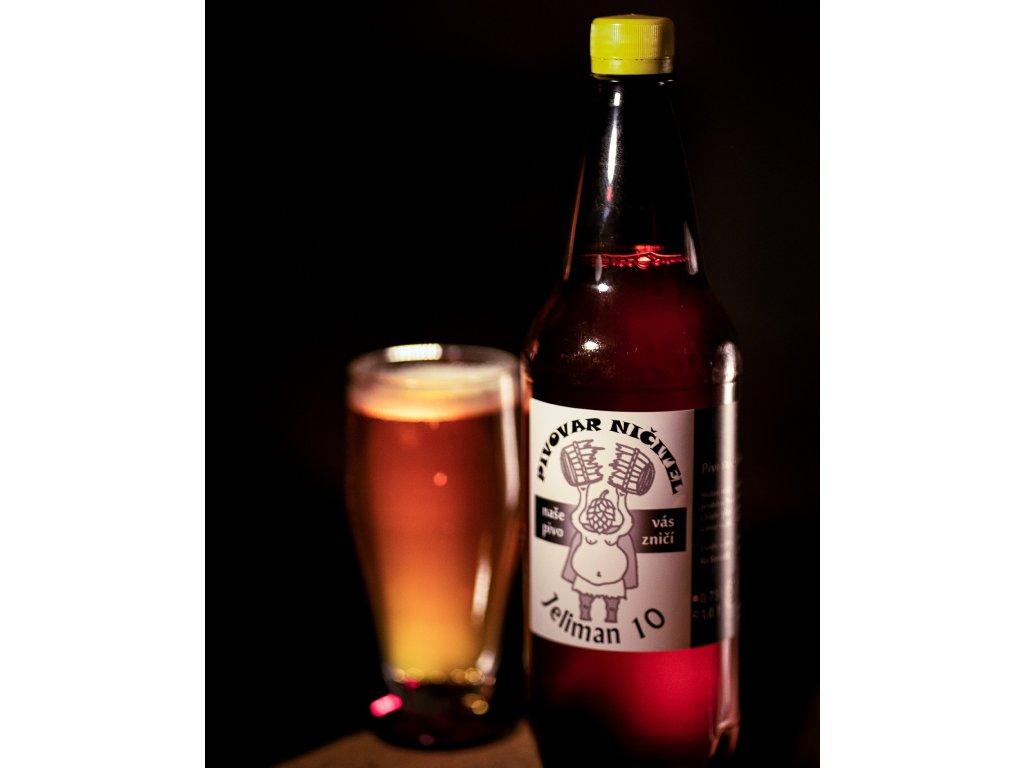 Pivovar Ničitel - Jeliman 10°, 1 l - PET
