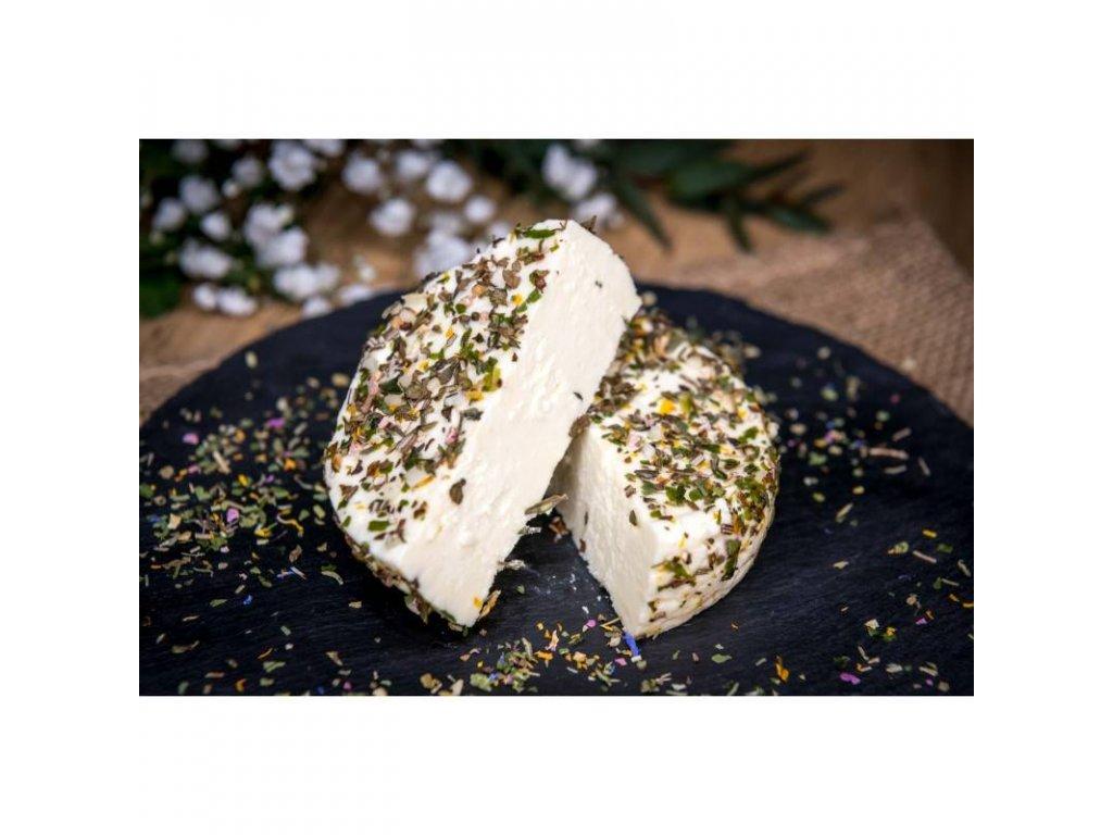 bio cerstvy syr s bylinkami