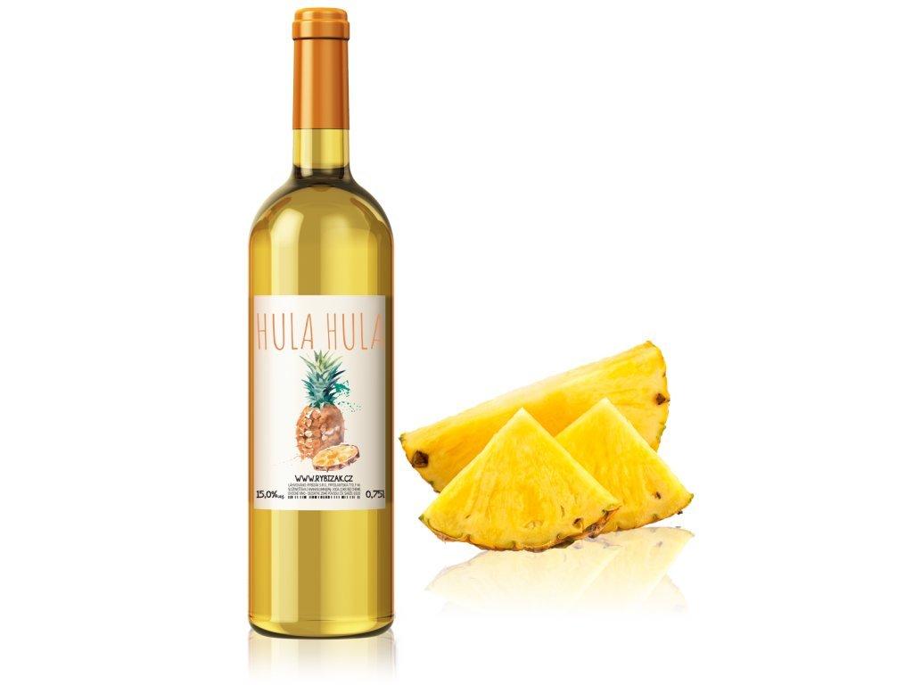 669 hula hula ananas