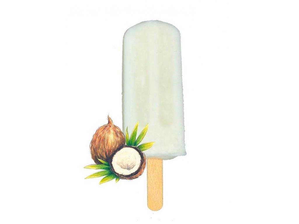 zmrzlina do pusy kokos