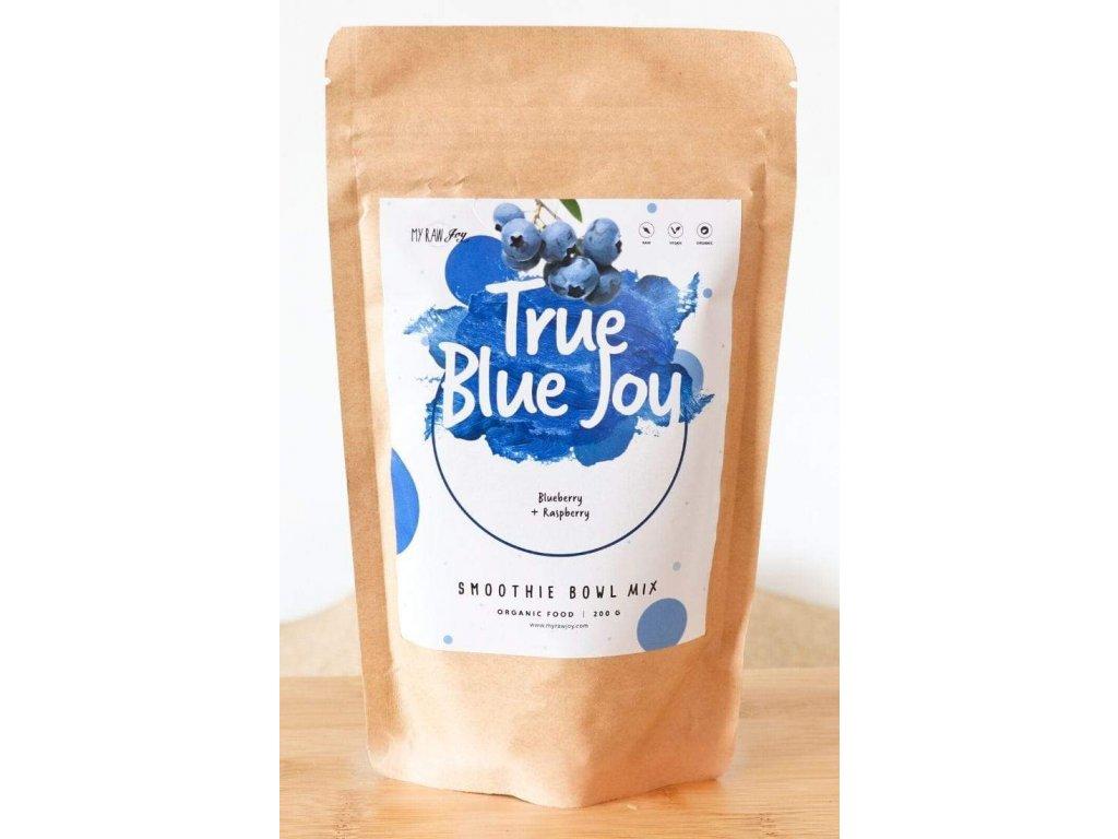 true blue joy smoothie bowl