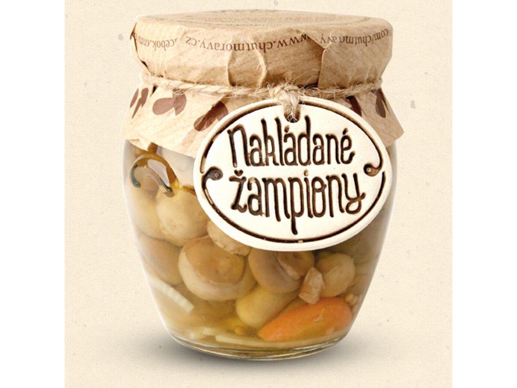 206 nakladane zampiony chut moravy