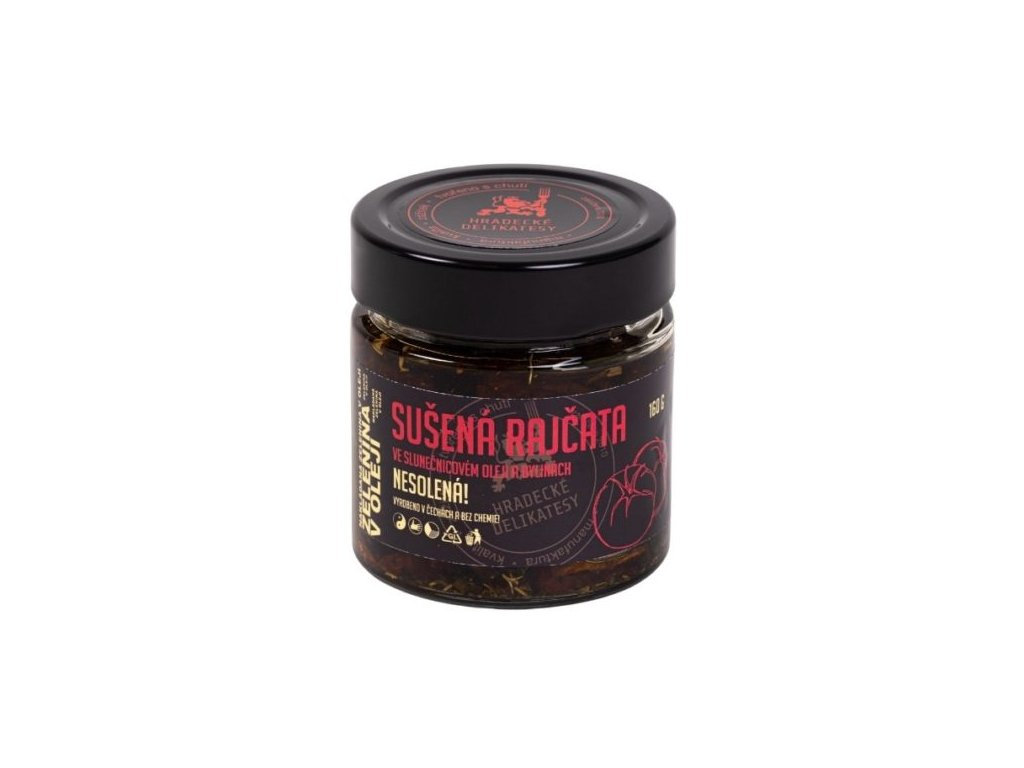 Sušená rajčata olivovém oleji – 160g