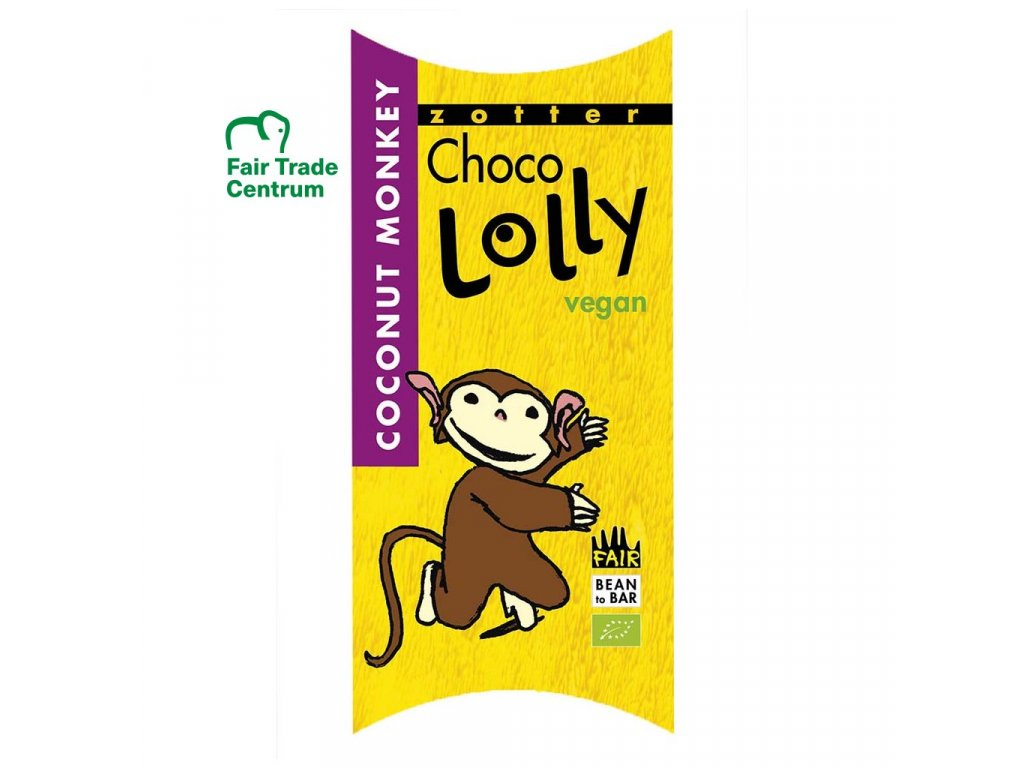 1171 1 fair trade bio cokoladove lizatko zotter lolly kokosova opicka
