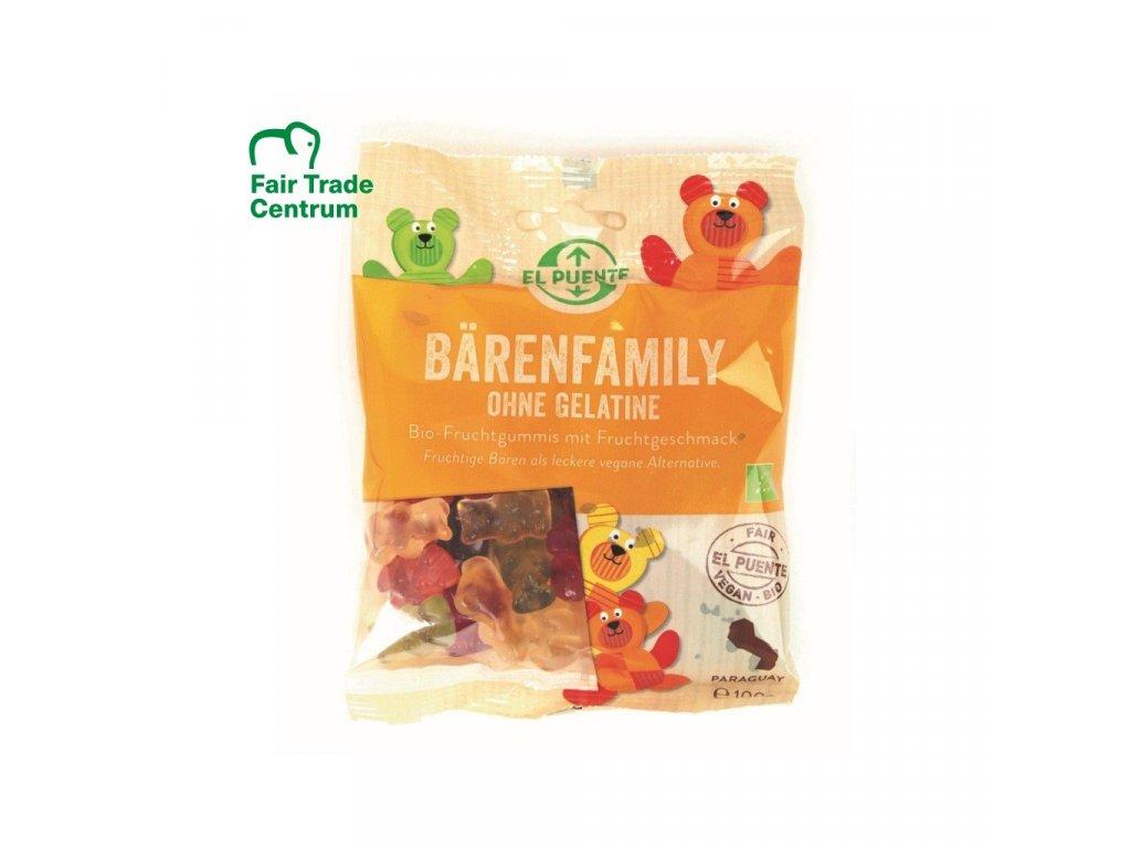 841 fair trade bio gumovi medvidci bez zelatiny z paraguaye