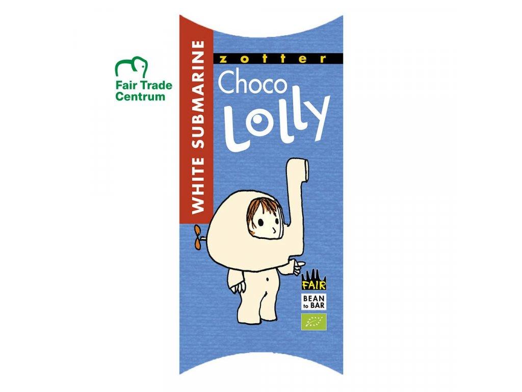1165 1 fair trade bio cokoladove lizatko zotter lolly bila ponorka