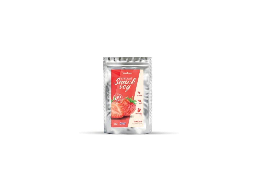 Snack Veg jahoda 20 g