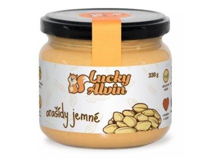 lucky alvin arasidove maslo neochucene 330g