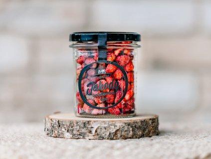 lyofylizované lesní jahody kvasnička