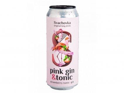 pink gin tonic svachovka