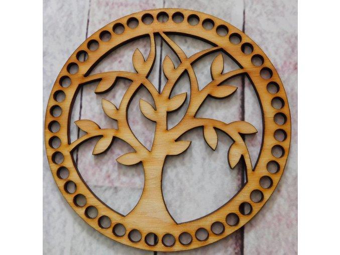 víko kruh strom 1