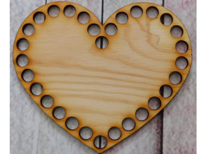 dno srdce 15cm prázdné
