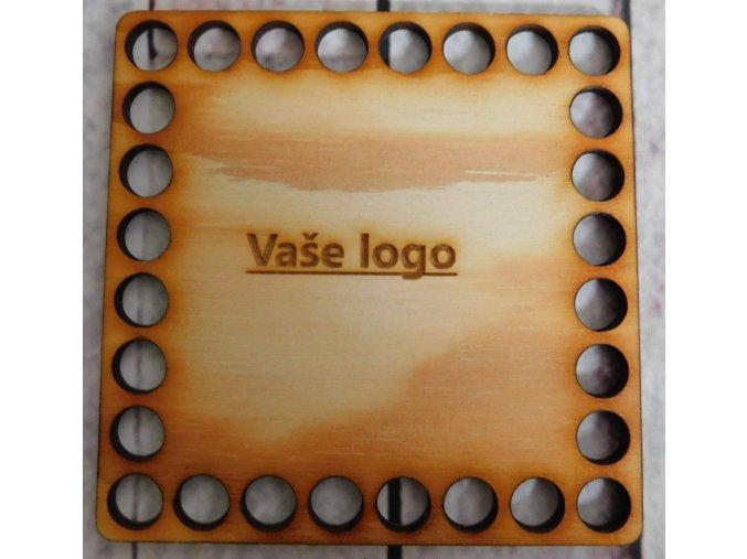 dno vaše logo 10x10cm