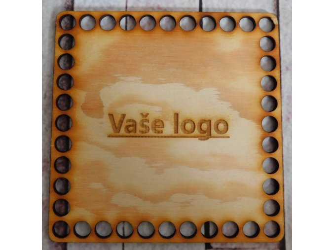 dno vaše logo 15x15cm