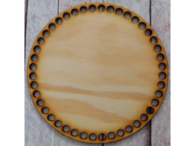 víko kruh prázdné průměr 15cm