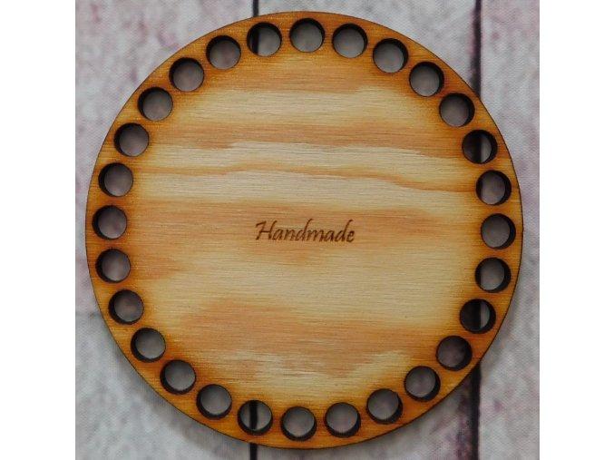 dno kruh handmade průměr 10cm