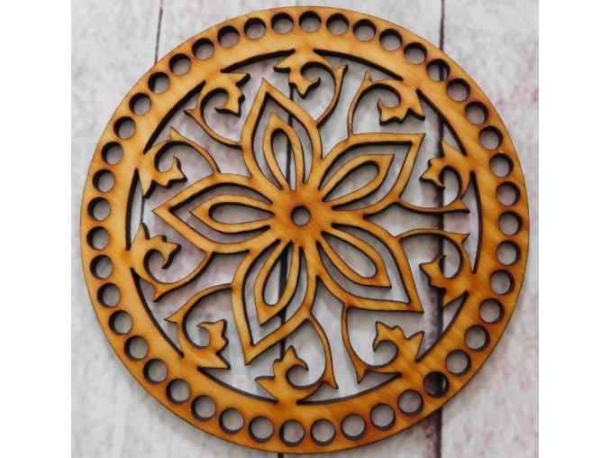 víko kruh květ 2