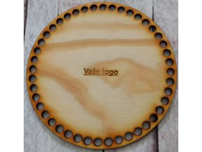 víko kruh vaše logo průměr 15cm