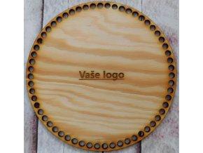 víko kruh vaše logo průměr 20cm