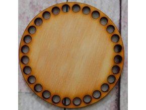 dno k háčkování kruh 10 cm