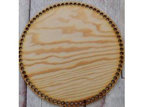 dno k háčkování kruh 25 cm