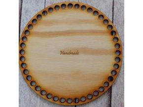 dno k háčkování kruh 15 cm nápis handmade