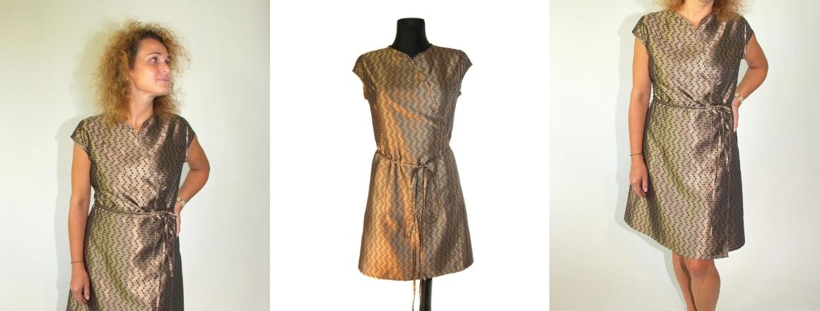 Zavinovací šaty Japan