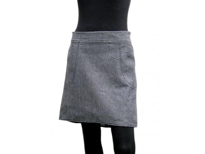 Sukně mini do oblouku - střih