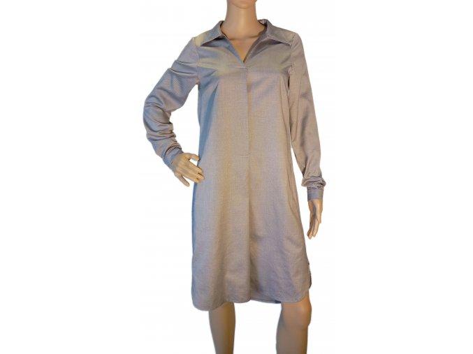 Šaty košilové - střih