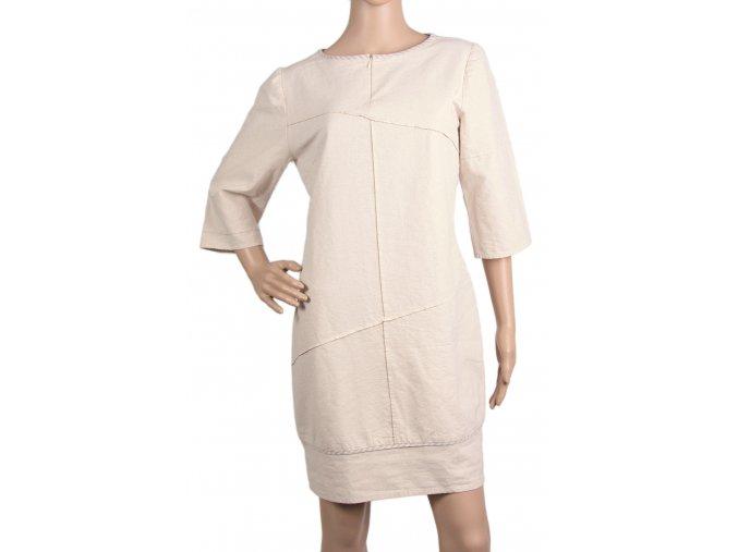 Šaty Cikcak - střih