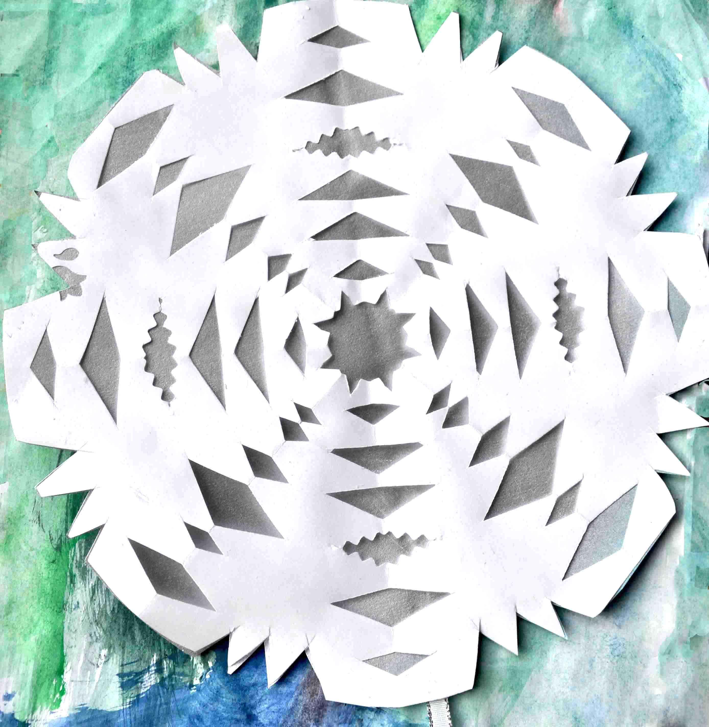 Sněhové vločky - Vánoční dekorace!