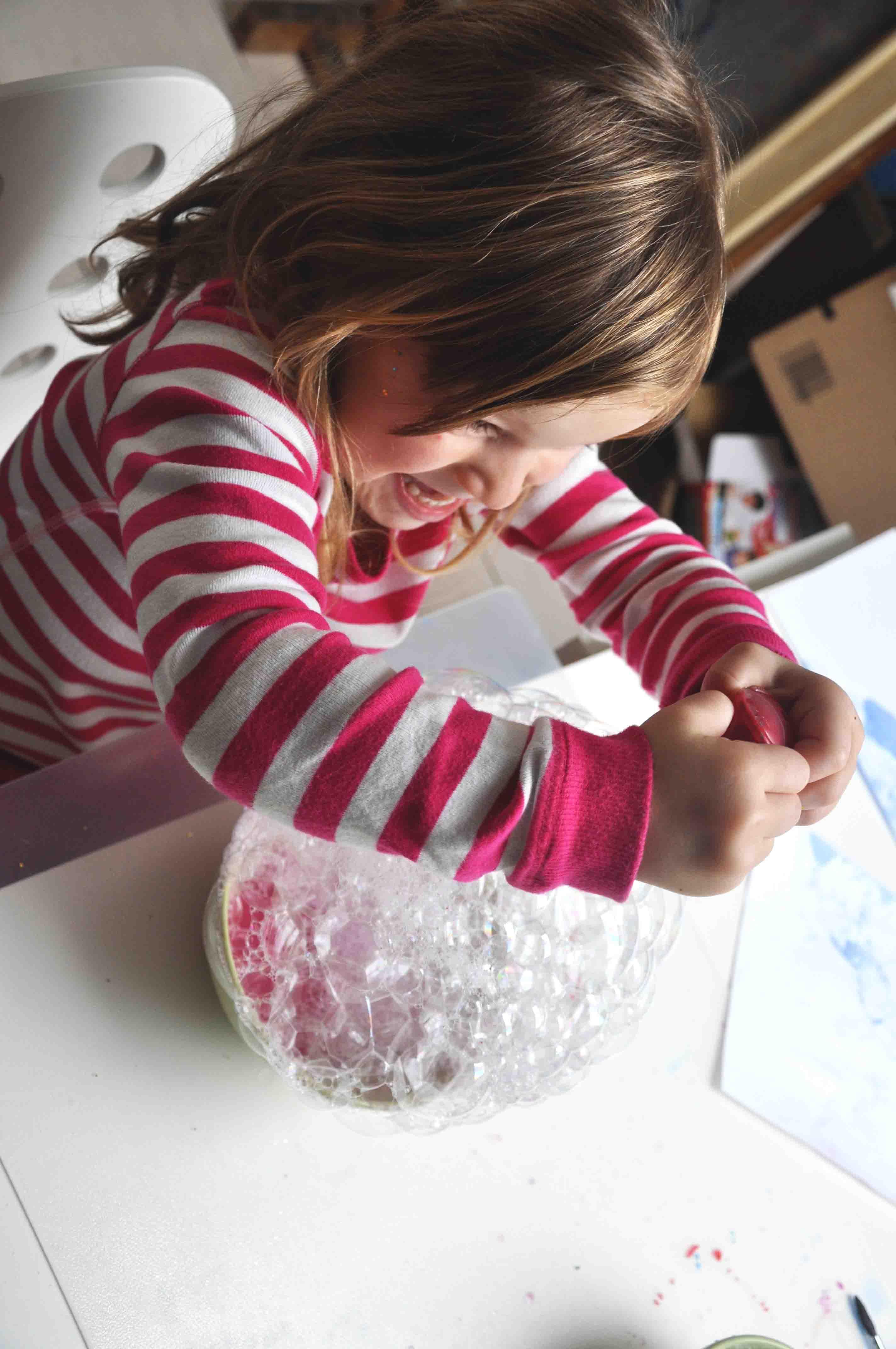 Bublinové umění!