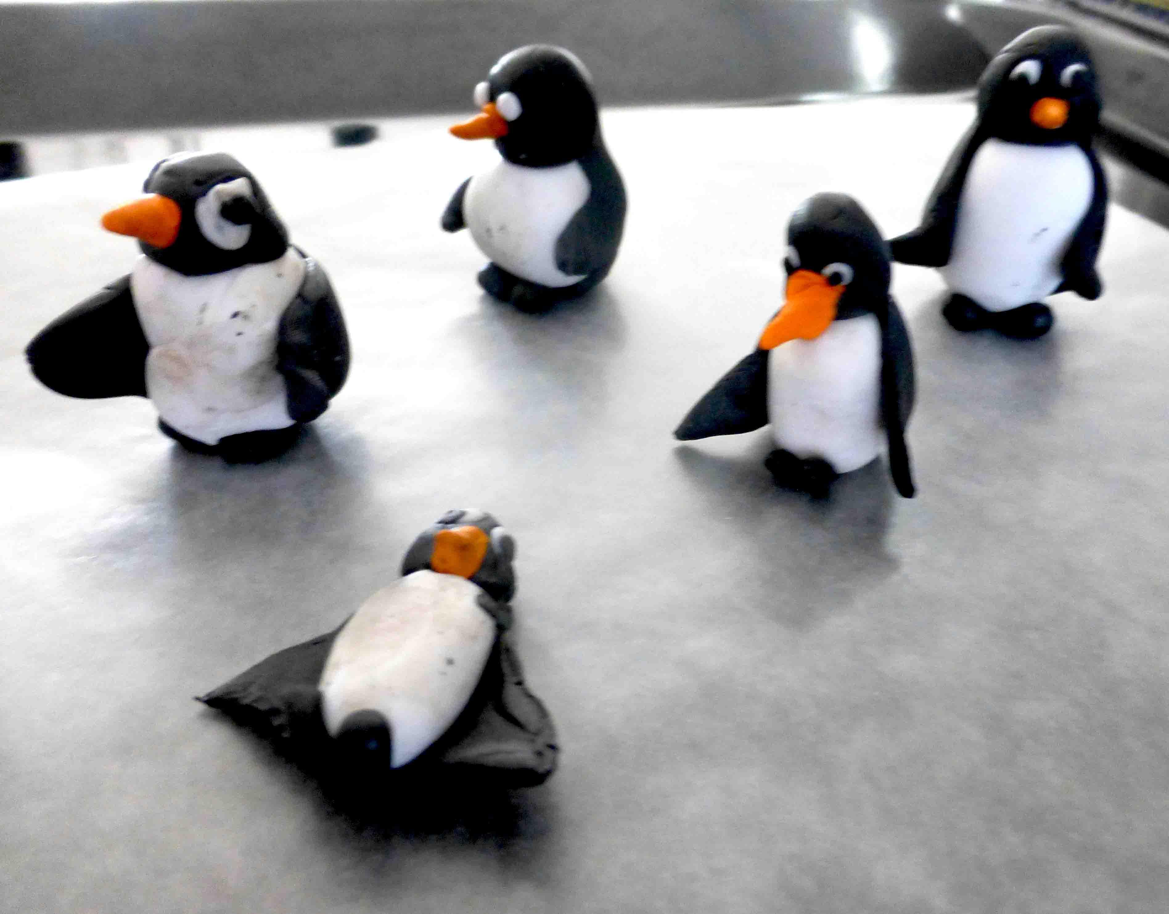 Fimo a tučňáci!
