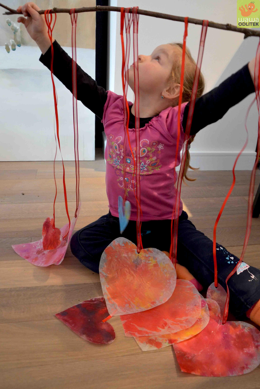 Valentýnské srdce ze starých voskovek