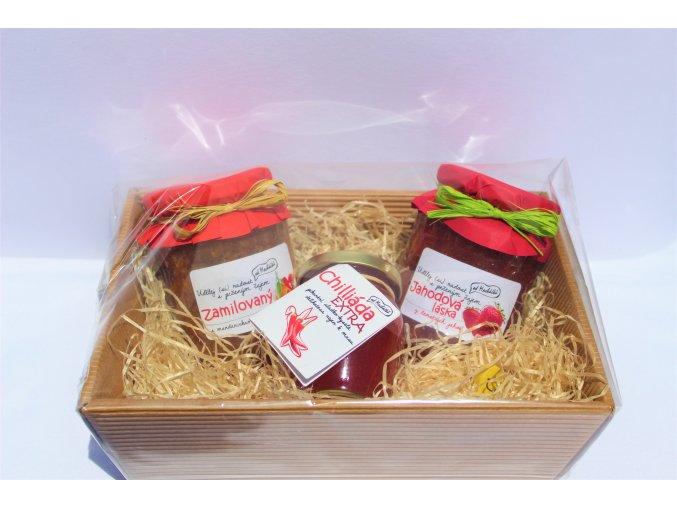 Dárková krabička - Žhavá láska