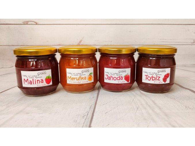 oblíbené džemy z českého ovoce