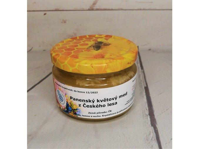 Panenský květový med z Českého lesa 300 g