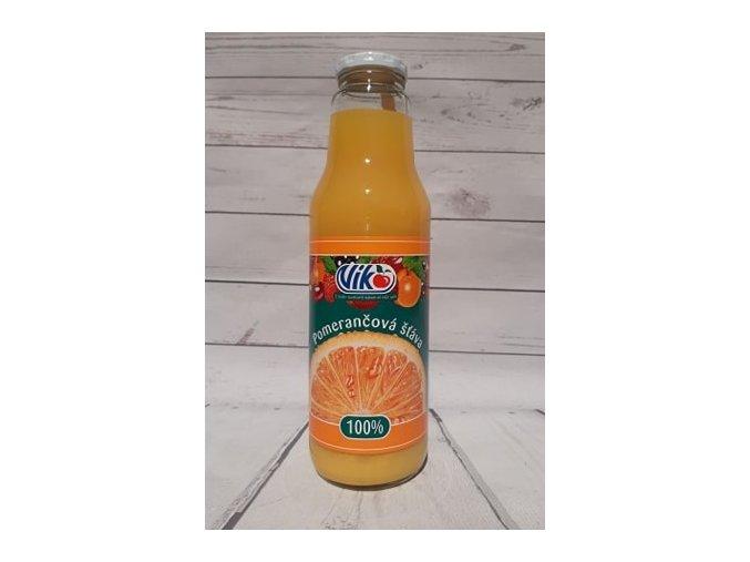pomerančová šťáva 100 %