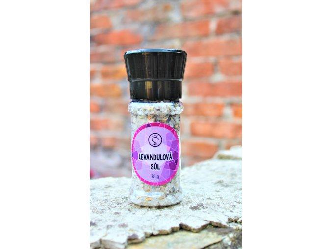 Sůl levandulová - mlýnek