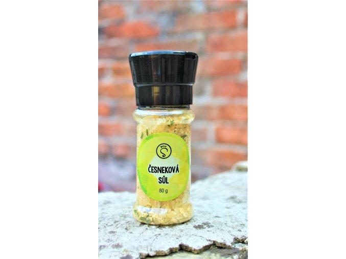 Sůl česneková - mlýnek