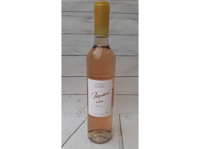 víno růžové velké