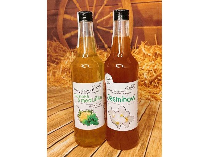 2 sirupy na domácí limonády z bylin Od Macháčků