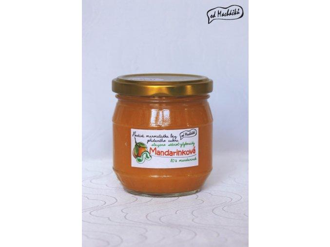 Marmeláda BEZ CUKRU Mandarinková
